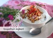 Chia Grapefruit Joghurt