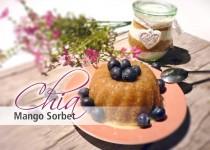 Chia Mango Sorbet