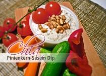 Chia Pinienkern - Sesam Dip