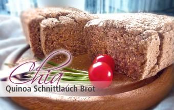 Chia Quinoa Schnittlauch Brot (glutenfrei)
