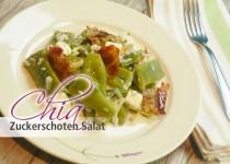Chia Zuckerschoten Salat