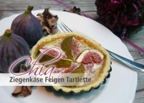 Chia Ziegenkäse Feigen Tartlette