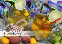 Chia Frucht Bowle